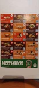 Korting bij Burger King met coupons