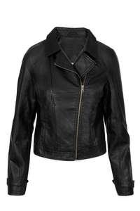 ZUSSS stoere biker jas zwart