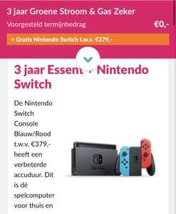 3 jaar Essent + Nintendo Switch