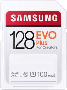 SAMSUNG (EVO en PRO) PLUS SD KAART 128GB