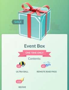 Pokemon GO Event Box voor 1 coin!