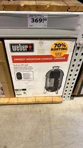 [lokaal] Weber Smokey Mountain Cooker Smoker 37cm BBQ