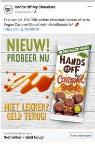Probeer gratis Hands Off My Chocolate Vegan Caramel Seasalt