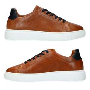 Leren heren sneakers -60% [waren €99,99]