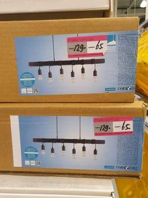 (Lokaal) 50% korting op Eglo hanglamp Townshend 5 Zwart 6xE27
