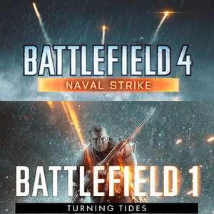 Battlefield™ 1 Turning Tides DLC en Battlefield 4 - Naval Strike DLC (PC) GRATIS