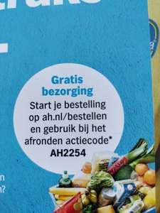 Gratis bezorging bij Albert Heijn