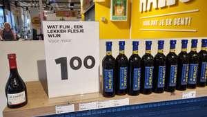 [lokaal] Flesje wijn voor €1 bij Jumbo Burchtwal in Utrecht Vleuterweide