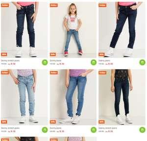 Diverse meisjes jeans voor €9,10 (meer dan aangegeven 30% korting)