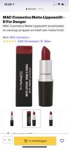 MAC Cosmetics Matte Lippenstift - D For Danger