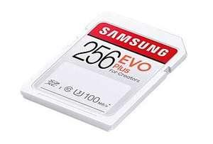 Samsung EVO Plus 256GB mSDXC kaart bij Reichelt (Duitsland)