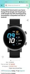 Ticwatch E3 Wear OS Smartwatch