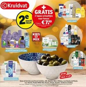 2 'tapasschaaltjes' twv €7,98 bij 2 actieproducten (+2e halve prijs) = vanaf €2,83 @ Kruidvat