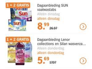 Albert Heijn dagaanbiedingen 1+2 gratis