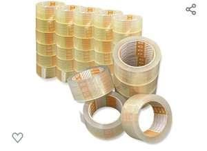 36 rollen transparante verpakkingstape (50 mm x 66 m)
