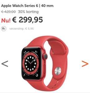 Apple Watch Series 6 Rood | 40 mm