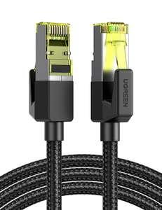 UGREEN Cat7 Ethernet kabel 5M met RJ45 connector voor €6,49 @ Amazon.nl