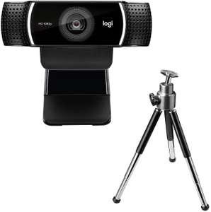 Logitech C922 Pro FHD streaming webcam @Amazon ES