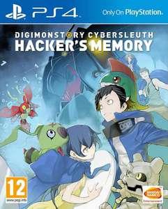 [laagste prijs ooit] Digimon Story: Cybersleuth - Hacker's Memory (PS4 Playstation 4) @Amazon