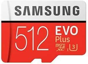 Samsung EVO Plus 512GB microSD + Adapter