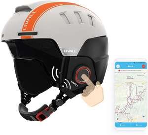 Livall SMART RS1 ski/snowboardhelm met GPS muziek en walkietalkie functie