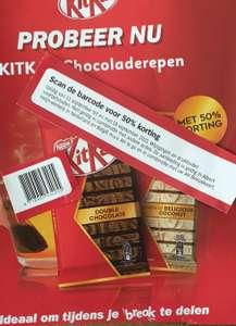 50% korting kitkat chocoladerepen @ Albert Heijn