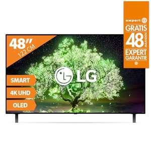 """[DAGDEAL] LG OLED48A16LA 48"""" 4K OLED Smart TV voor €569,20 na €150 cashback @ Expert"""