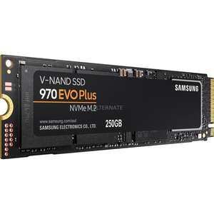 Samsung 970 EVO Plus, 250 GB SSD @Alternate