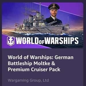 Gratis tier IV Moltke met Prime @ World of Warships
