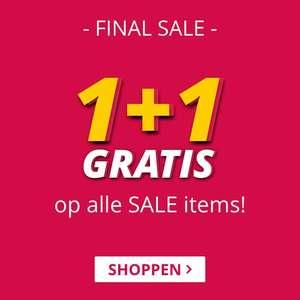 1+1 op alle sale @ Smartphonehoesjes.nl