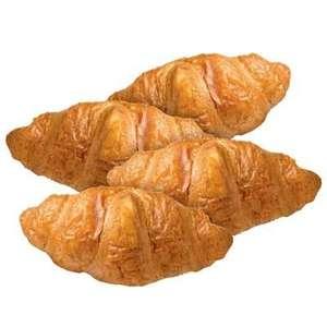 4 petit/roomboter croissants
