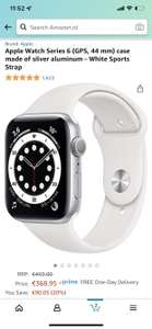 Apple Watch Series 6 Rood