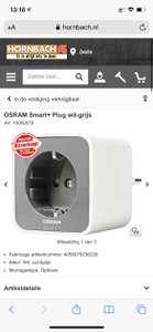 OSRAM Smart+ Plug wit-grijs zigbee