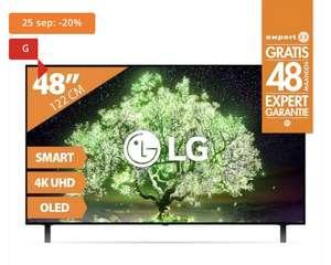 LG oled48a16la TV voor €569,20 na €150 cashback - alleen (weer) op 25 september bij Expert
