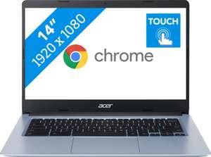 Acer Chromebook 314 CB314-1HT-C6XM van 379 voor 229