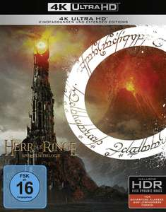 The Lord Of The Rings Trilogy (4K Ultra HD) Duitse uitgave met Engelse dub en NL sub