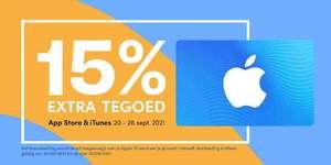 iTunes / Apple App Store tegoed: 15% extra tegoed + 10% korting in de nieuwe app Beltegoed.nl
