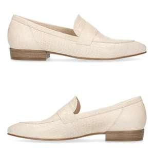 Leren dames loafers [waren €99,99]
