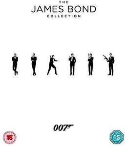 James Bond Blu-ray Collection (films 1-24)