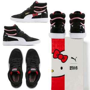 Puma Ralph Sampson x Hello Kitty sneakers