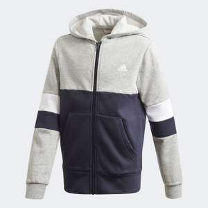 adidas Linear Colorblock kids hoodie met rits
