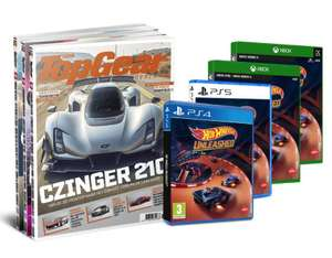 6x TopGear + Hot Wheels Unleashed (PS4/PS5/XBO/XBX)