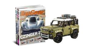 24 edities TopGear voor € 149 + LEGO Land Rover Defender (42110) twv €140. Cashback mogelijk van 8,4% (€12,52)