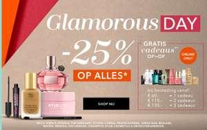 Glamorous Day: 25% korting @ DOUGLAS
