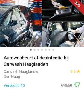 [lokaal] Autowasstraat met code €4,50