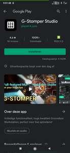 G-Stomper Studio tijdelijk gratis ipv 13.99,- (Play Store)
