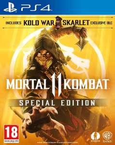 Mortal Kombat 11 Special Edition PS4 (Amazon Exclusive) @Amazon FR
