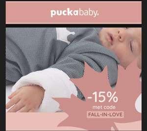 Puckababy 15% korting