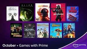 Amazon Prime Gaming - Oktober 2021