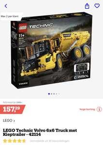 Lego: Volvo 6x6 Truck met kieptrailer (42114)